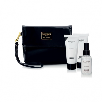 Limited Edition Cosmetic Bag -Black