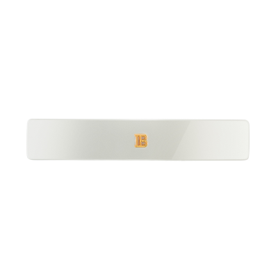 Barrette pour cheveux Medium White